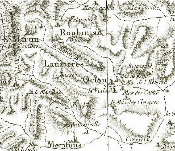 1770 (carte Cassini)
